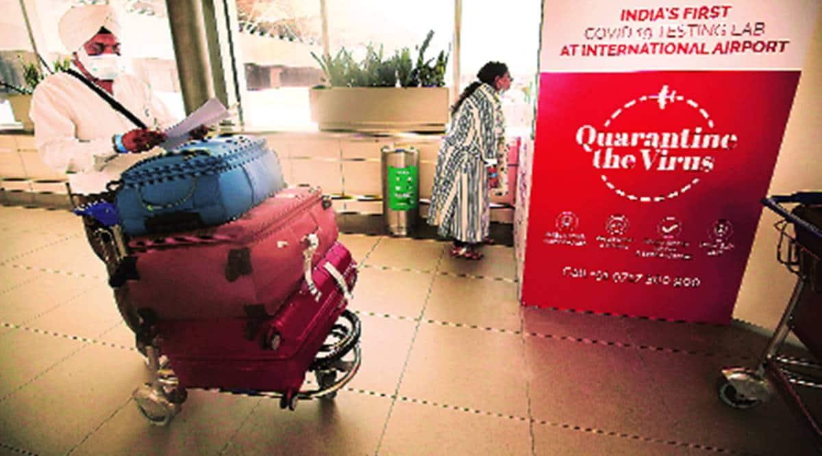 delhi coronavirus latest updates, delhi airport covid testing, delhi airport coronavirus tests, delhi igi airport, delhi flights, delhi city news, delhi covid testing