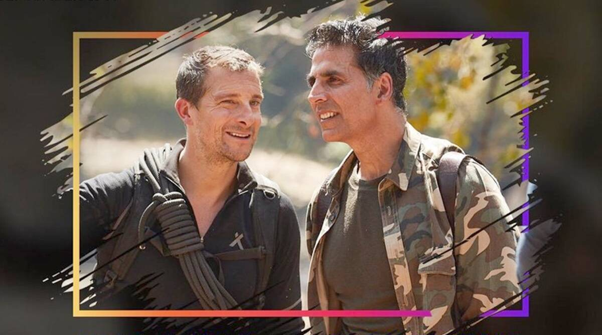 akshay kumar and bear Grylls episode into the wild discovery