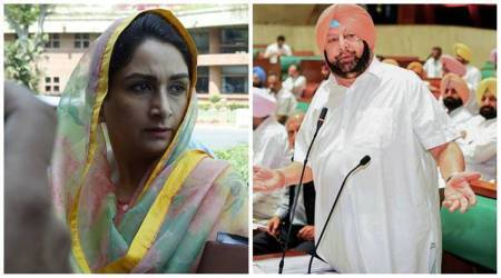 Amarinder Singh, pUNJAB POLITICS, Punjab elections 2022, Punjab 2021, bjp sad, congress, Harsimrat Kaur Badal indian express