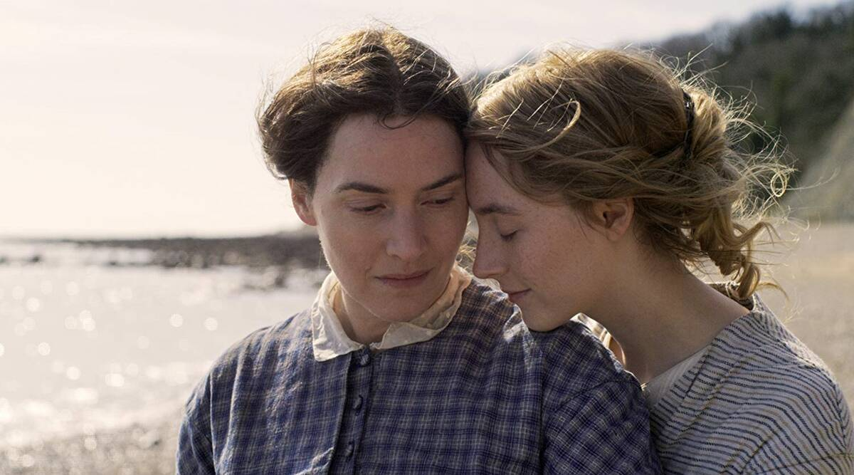 Ammonite , Ammonite review, kate winslet, saoirse ronan