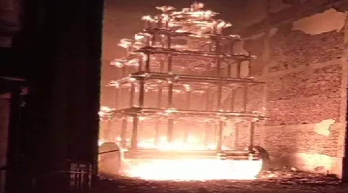 Andhra temples vandalism, temples vandalised in Andhra, temples vandalised in Andhra Pradesh, India news, Indian Express