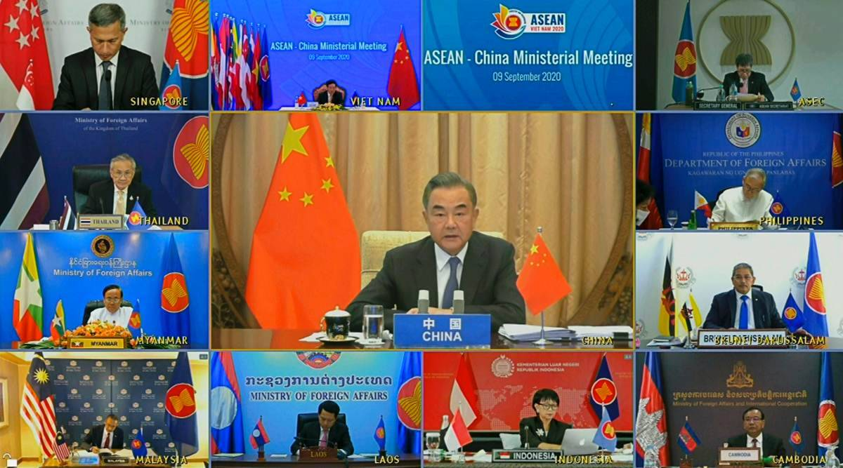 ASEAN talks, covid pandemic, South China Sea, US-China rivalry, vietnam asean, Association of Southeast Asian Nations, world news, indian express