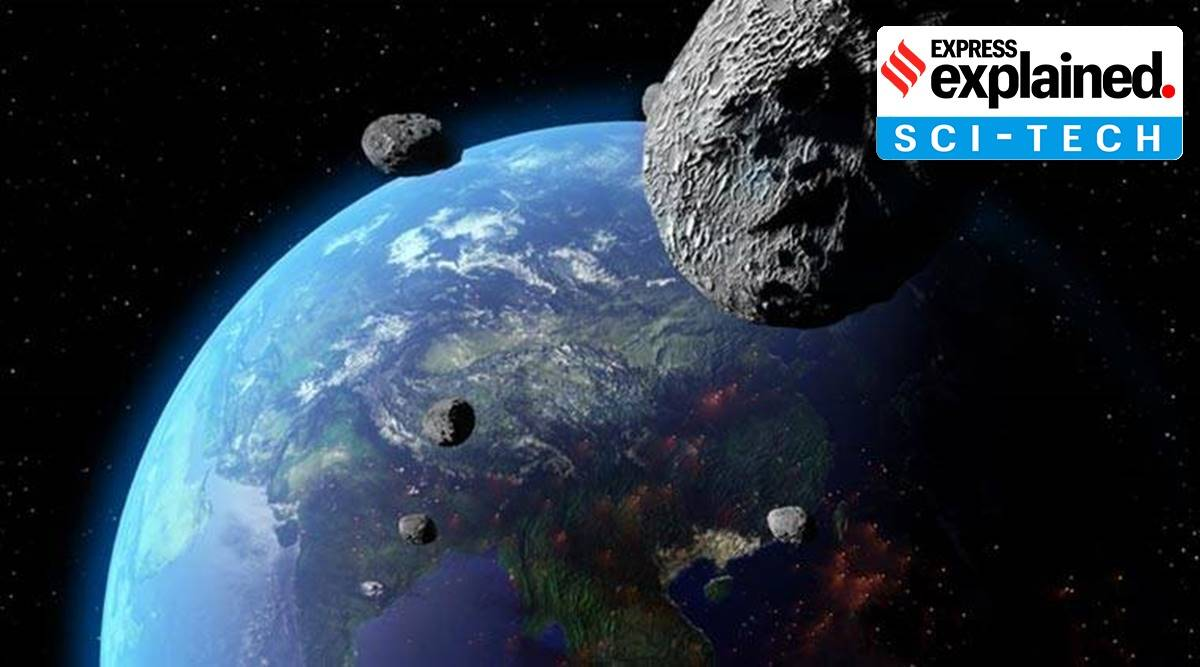 Colossal asteroid, Earth, asteroid, Astronomy