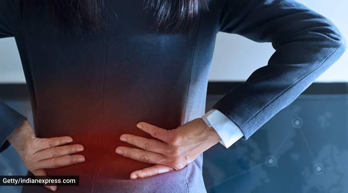 Ankylosing Spondylitis, spondylitis, back pain in women, back pain over 40, back pain causes, indianexpress.com, indianexpress,