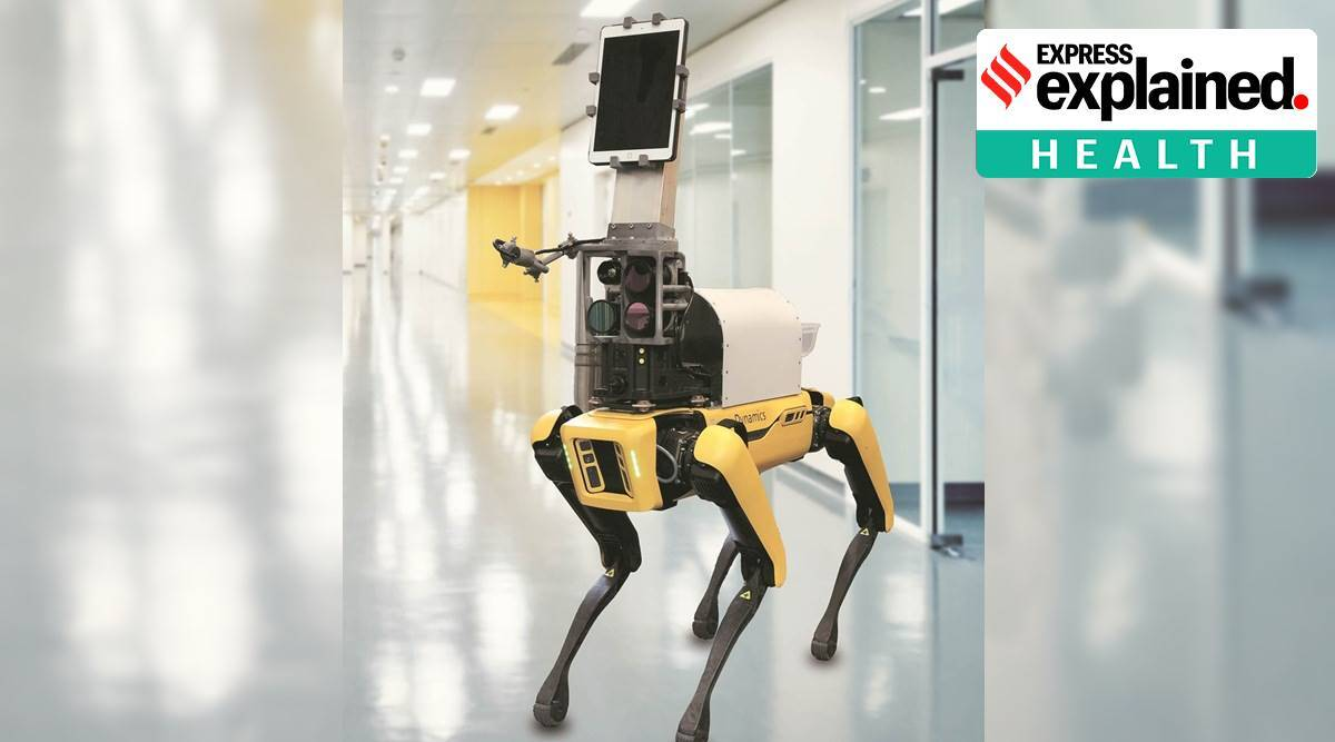 Explained: A robot to measure Covid patients' vital signs