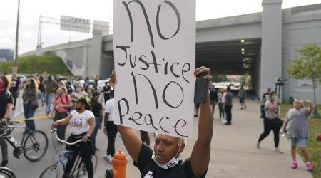 "Breonna Taylor protesters march anew: ""No justice, No peace"""