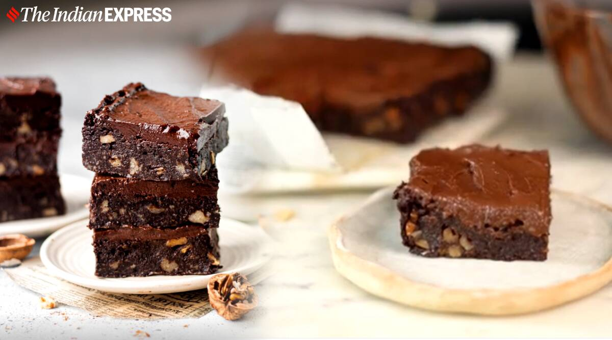 shivesh bhatia recipes, easy gluten free brownies, easy brownie recipes, easy desserts, indianexpress.com, indianexpress,