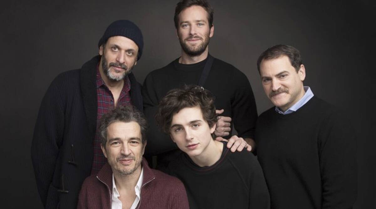 Luca Guadagnino Armie Hammer Michael Stuhlbarg Timothee Chalamet Walter Fasano Call Me By Your Name
