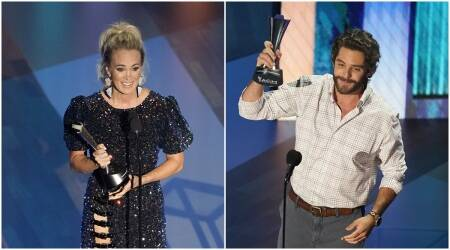 Carrie Underwood, Thomas Rhett , acm awards, acm awards 2020