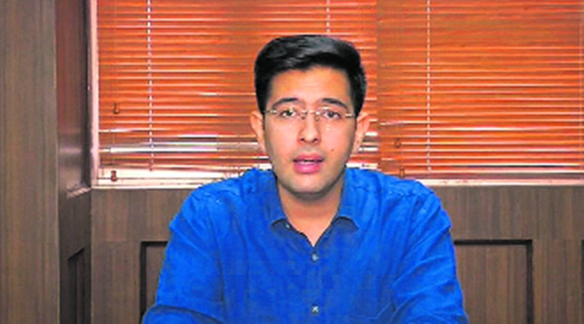 Delhi news, Raghav Chadha, AAP delhi, crops purchase from states, centre crop purchase, delhi crops, indian express