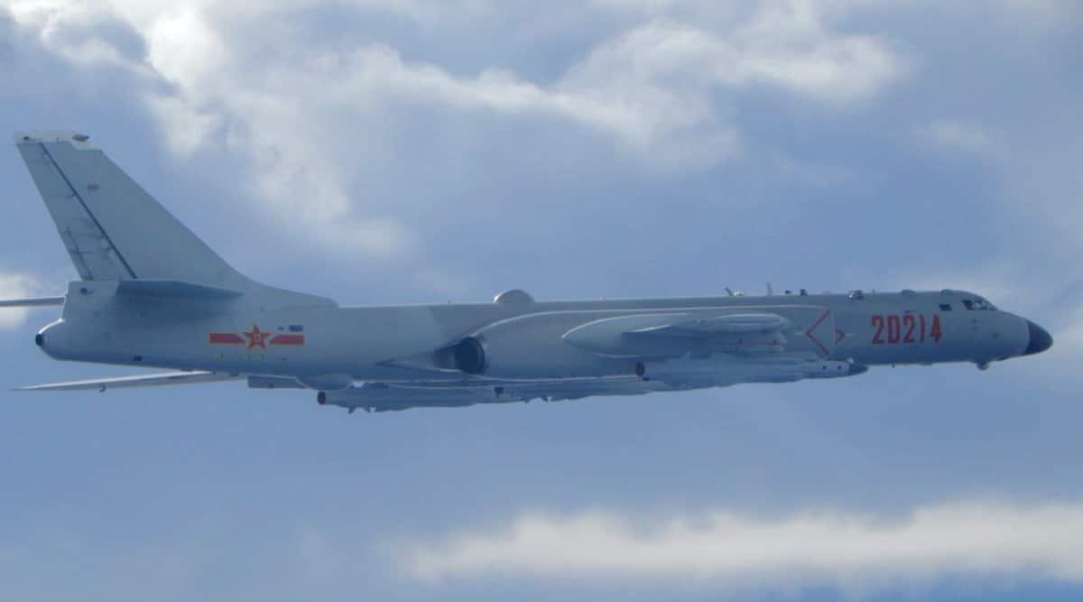 china warplanes, Chinese army, pla, us envoy visit in Taiwan, chinese warplanes, indian express