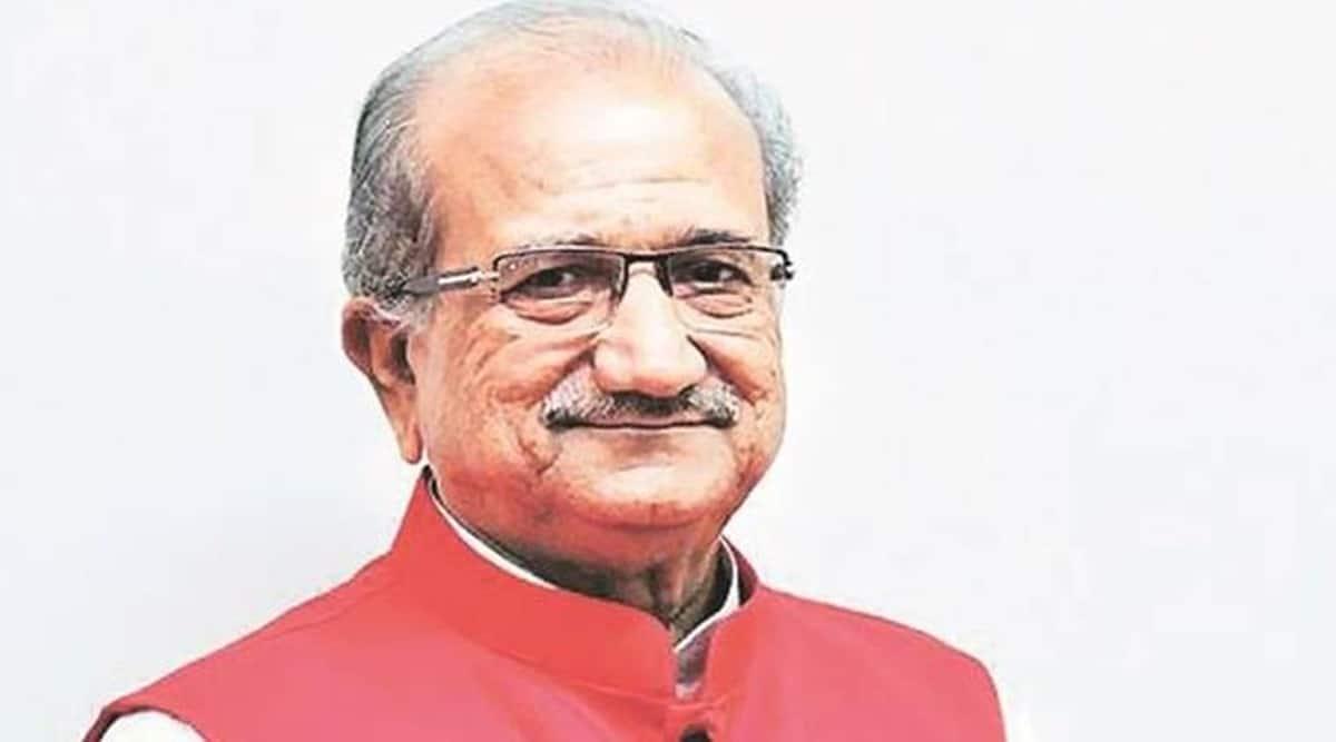 Bhupendrasinh Chudasama, Gujarat Assembly, Cow safety, Gandhinagar news, Indian express news
