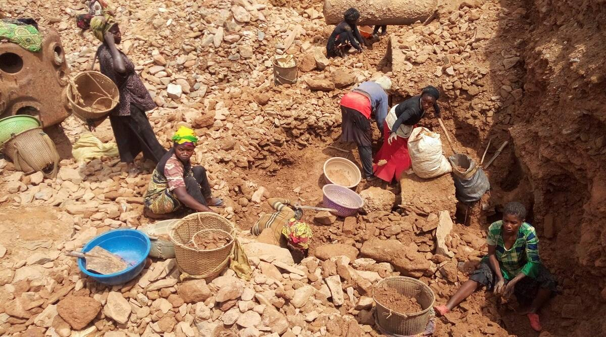 Congo mine collapse, Congo gold mine collapse, Congo gold mine collapse death toll, World news, Indian Express
