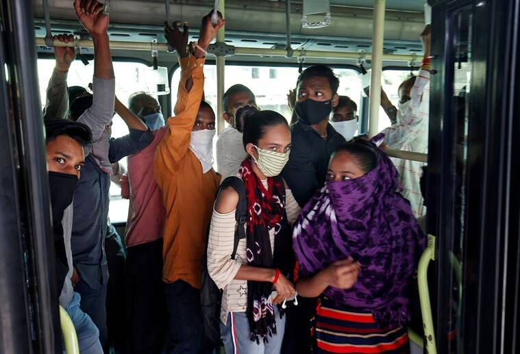 covid-19 cases decrease in Ahmedabad, Gujarat, coronavirus pandemic latest