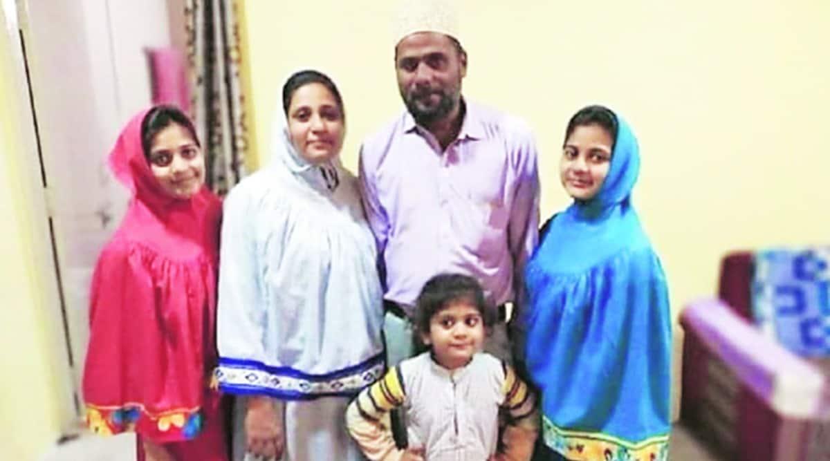 Dahod crime, dahod family found dead, 3 minor girls found dead in dahod, dahod family death, indian express news