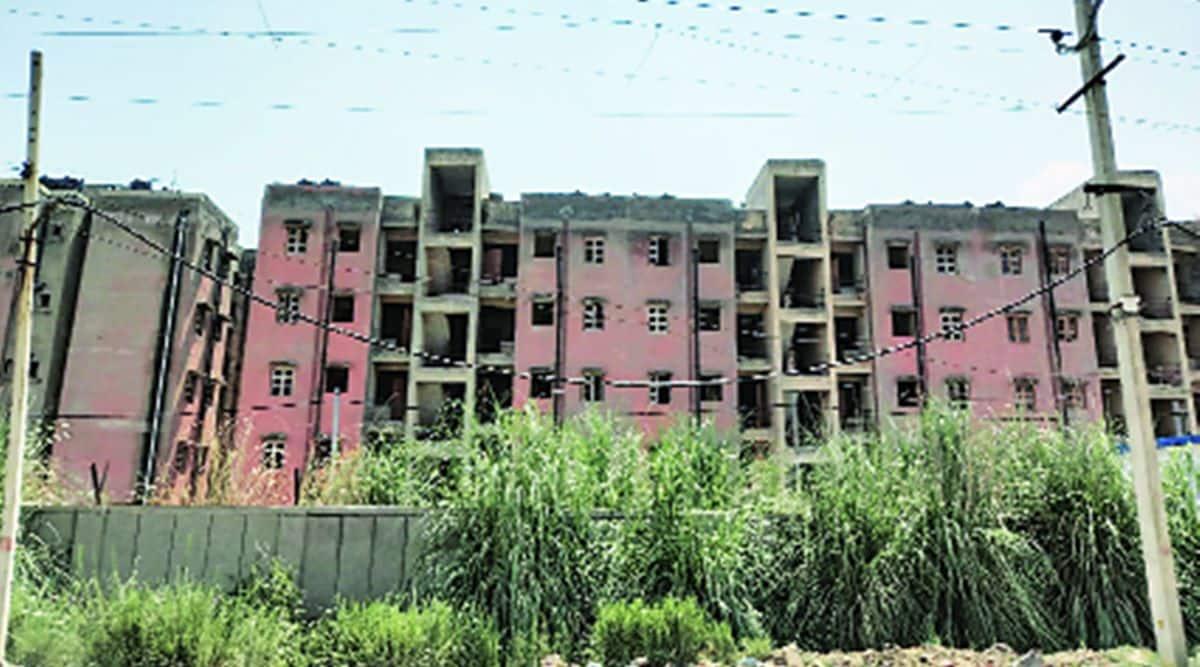 delhi housing complex for slum residents, delhi slums, delhi slum demolition, delhi houses for jj residents, delhi city news