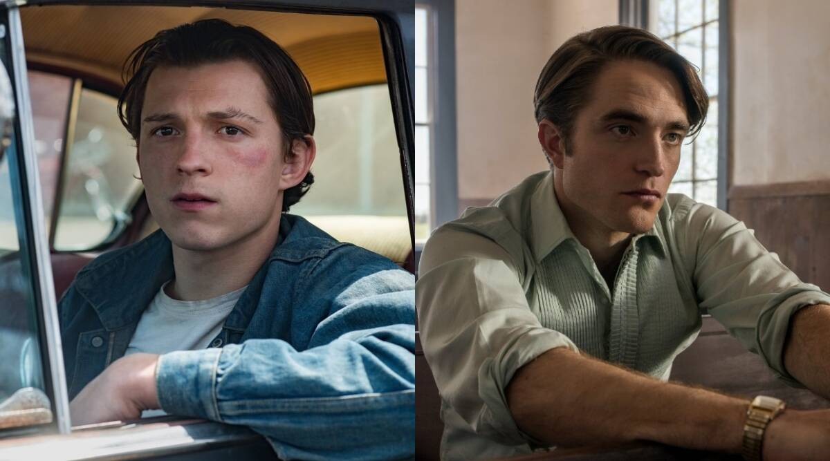 Tom Holland, Robert Pattinson set aside superhero suit for The Devil All  The Time   Entertainment Gallery News,The Indian Express