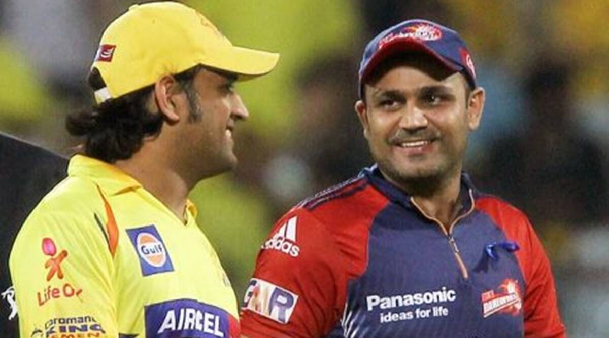 CSK wanted Virender Sehwag instead of MS Dhoni initially: Subramaniam  Badrinath | Sports News,The Indian Express