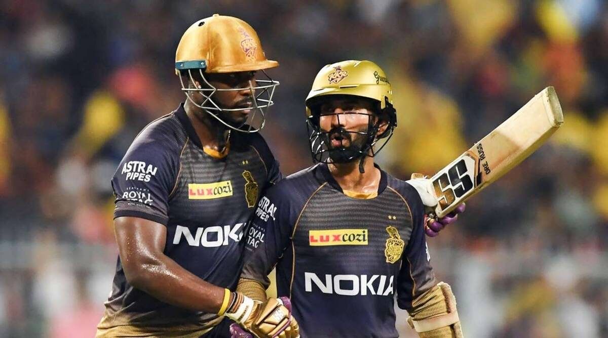 Dinesh Karthik, Andre Russell, Kolkata Knight Riders, David Hussey, IPL 2020, IPL 2020 updates, IPL 2020 news