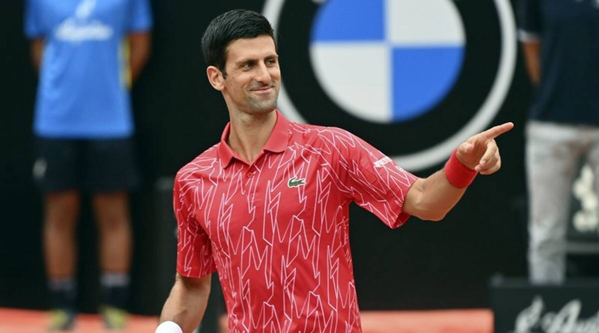 Moving on after US Open default, Novak Djokovic wins Italian Open