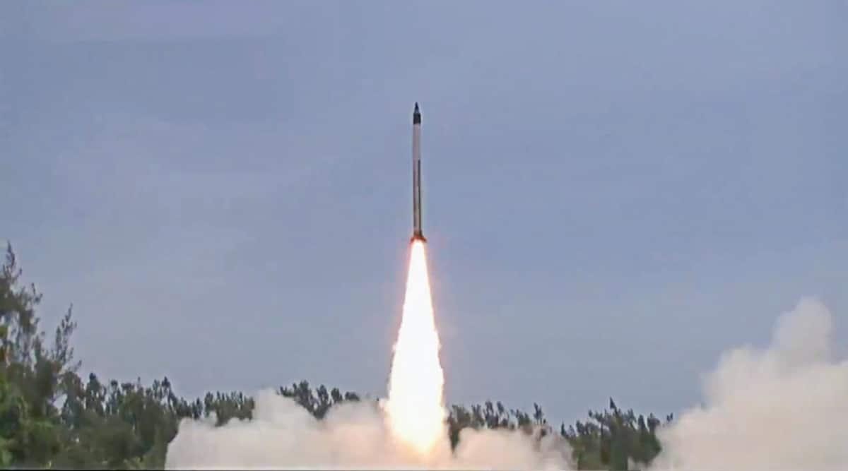 DRDO, Agni missile, HSTDV, NextGen Hypersonic, Aatmanirbhar, Wheeler Island, India missiles, HSTDV missile india, Indian Express