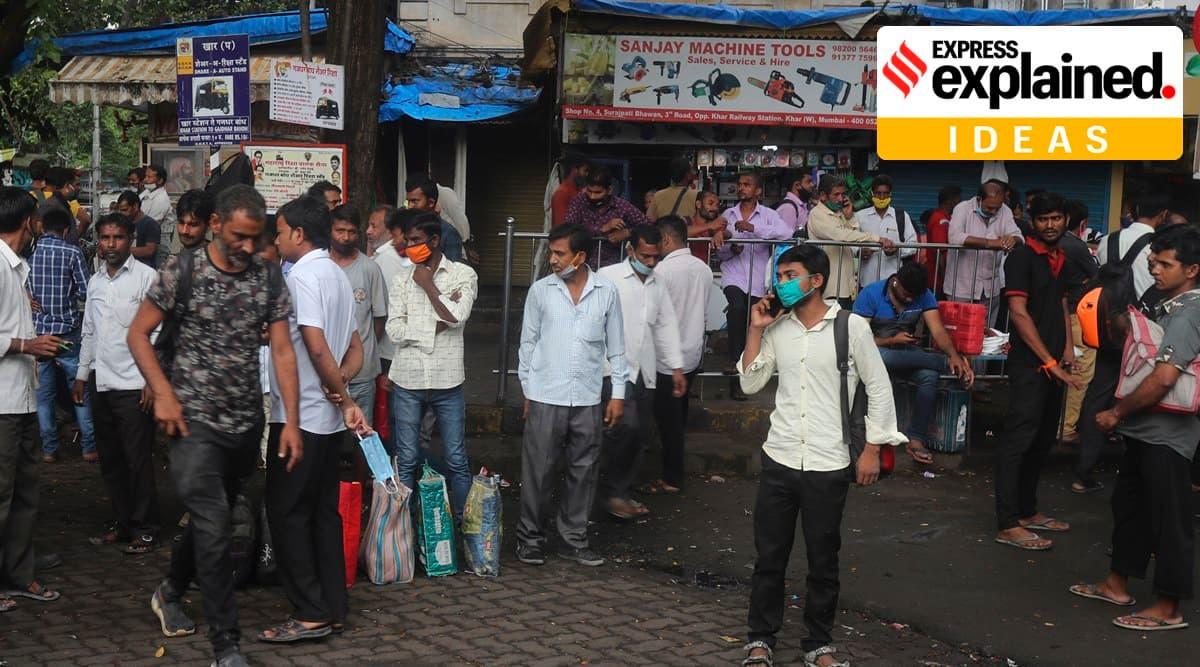 india economy, india economic growth, india gdp, india economy contraction, coronavirus news, indian express