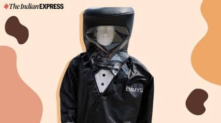 emmys 2020, tuxedo hazmat suit