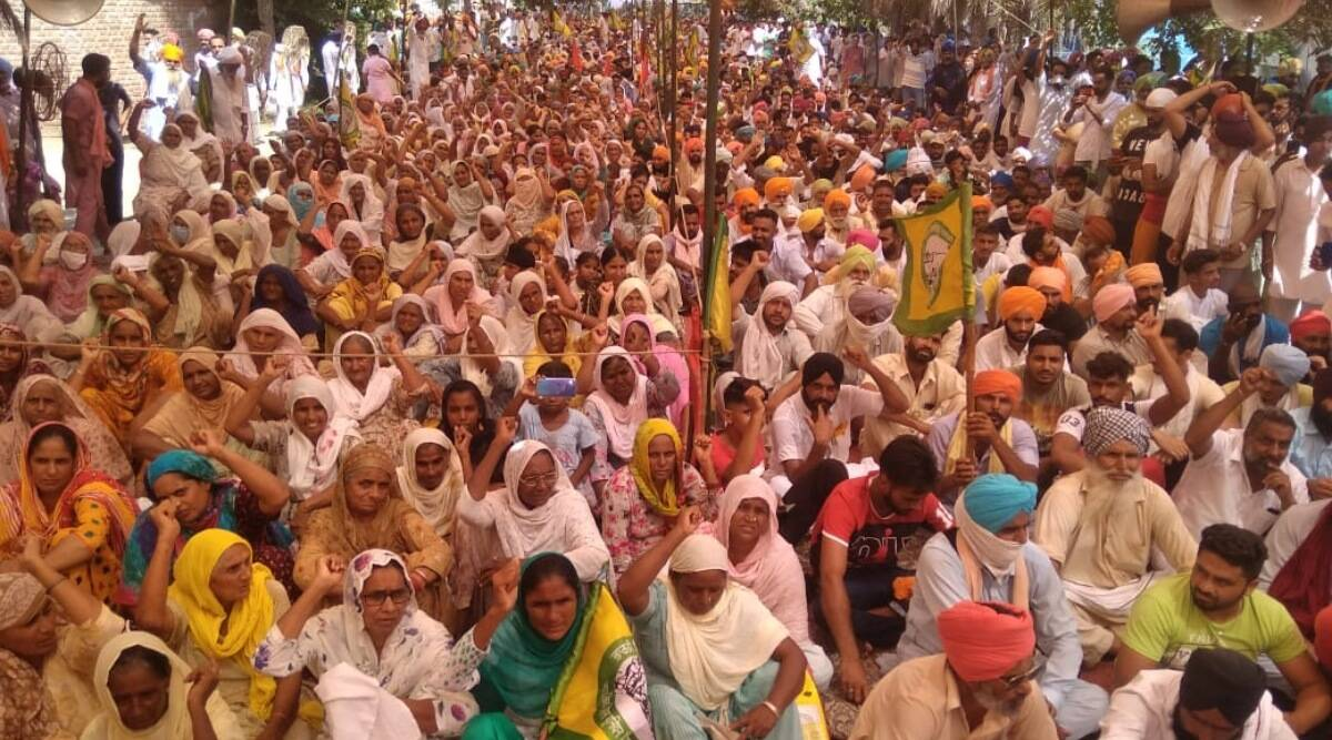 farmer protests, farmer protests across India, Haryana farmer protests, Punjab farmer protests, Maharashtra farmer protests, India news, Indian Express