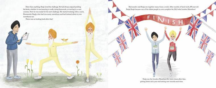 World's oldest marathoner Fauja Singh now a superhero in a children's book