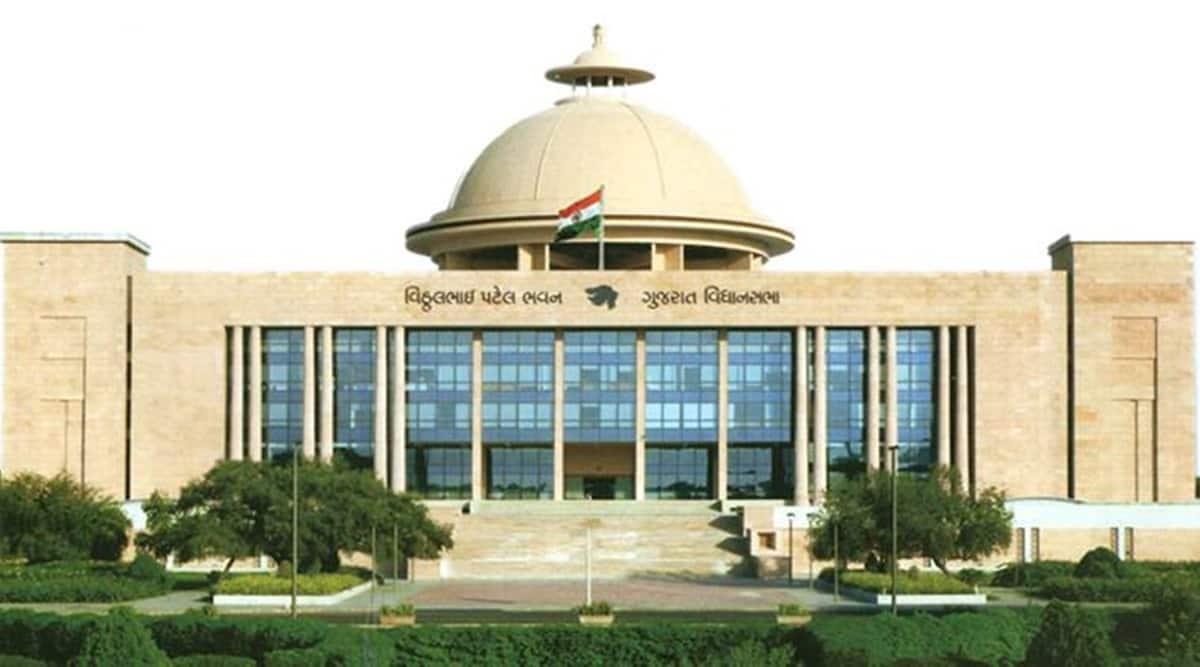 gujarat assembly, Gujarat Tenancy and Agricultural Land Laws, Gujarat Tenancy and Agricultural Land Laws amendment bill, indian express news
