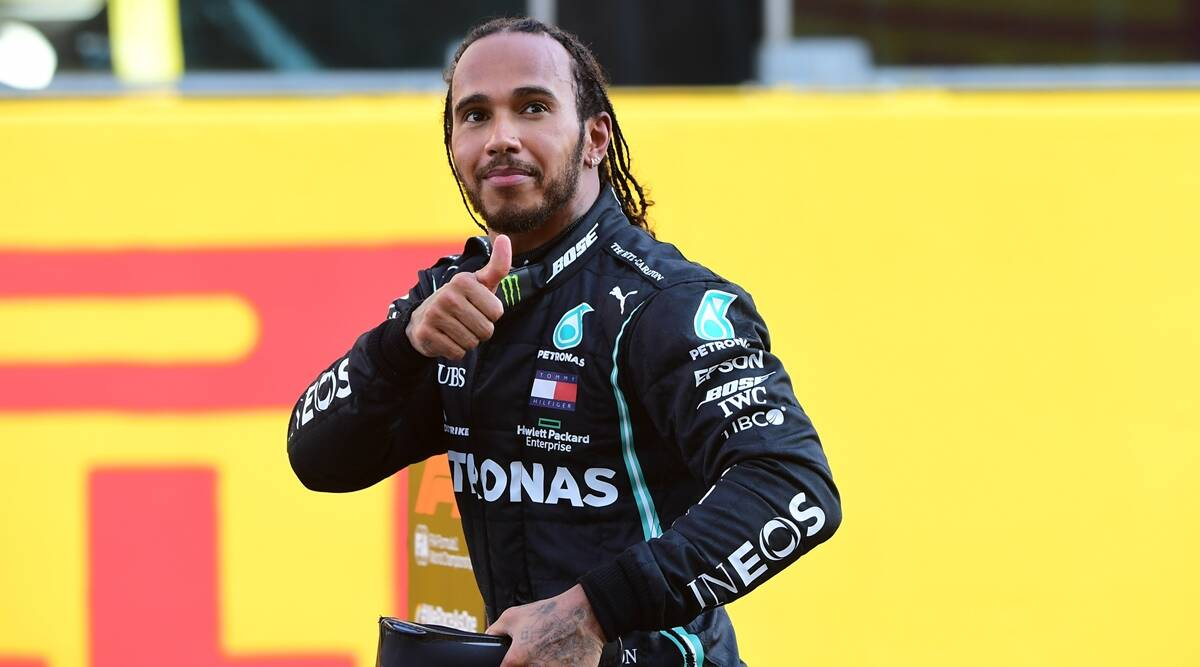 Lewis Hamilton says he would never refuse a knighthood from the royal family