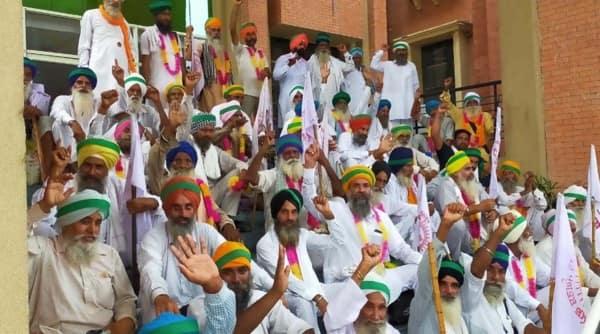 haryana protests, haryana farmers protest, Farmers' Produce Trade and Commerce Ordinance, haryana news, indian express