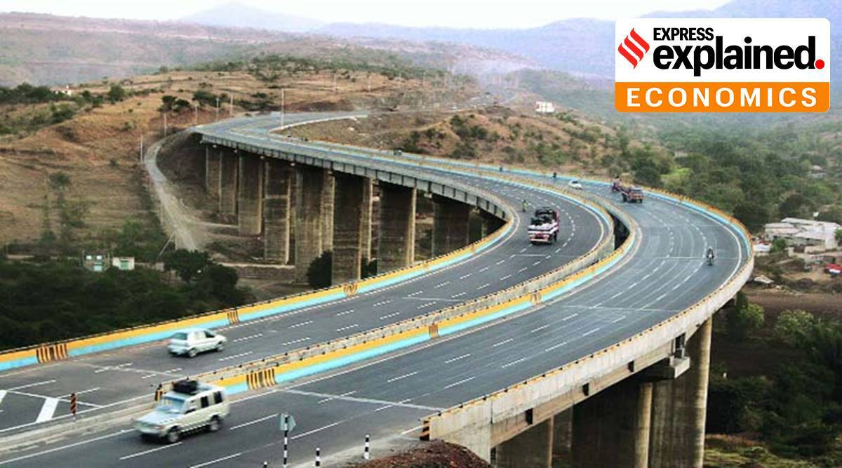 NHAI, InvITs, Infrastructure investment trusts, what are invits, nhai invits, monetising highways, highway toll collection, infrastructure development india, express explained, indian express