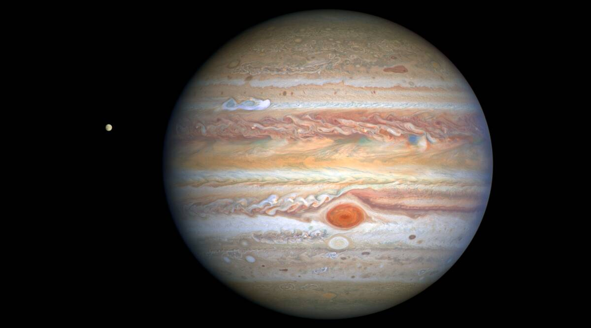 NASA releases photos of Jupiter, reveals mind-blowing observations - The Indian Express