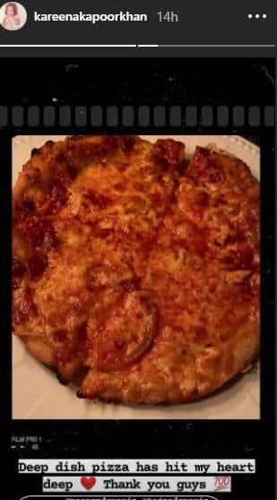 kareena kapoor, pizza