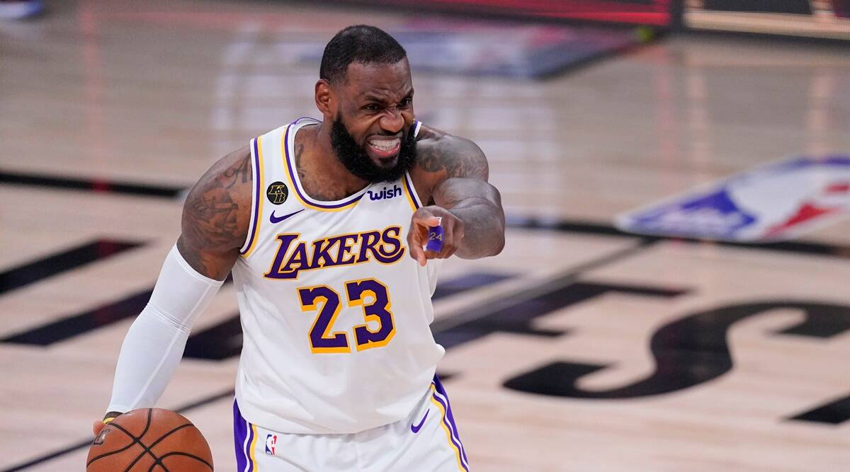 Los Angeles Lakers Lebron James Headed To The Conference Finals Sports News The Indian Express