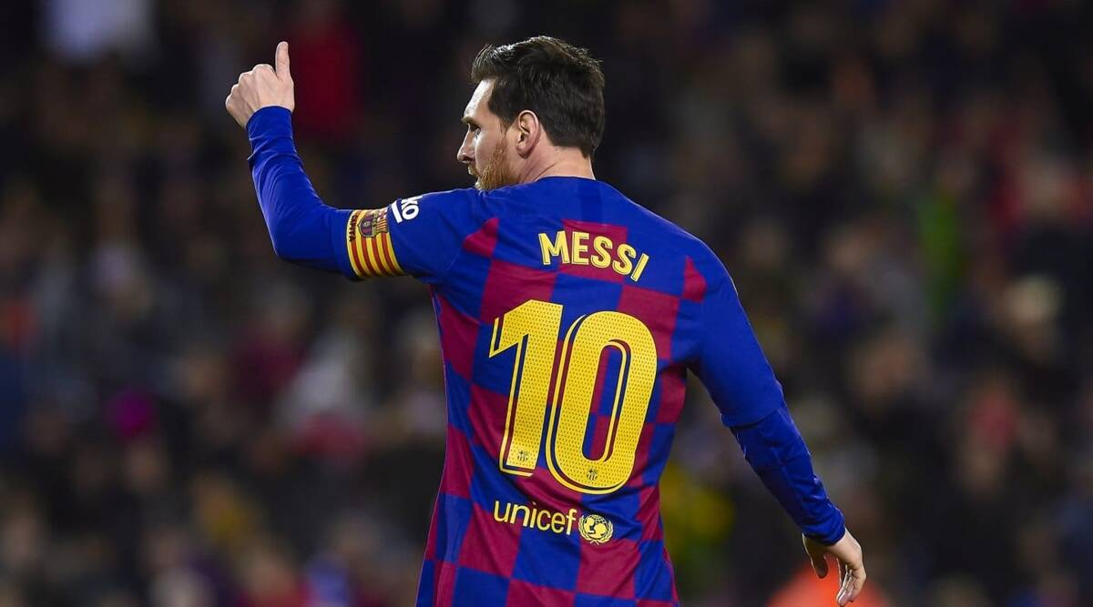 Lionel Messi Decides To Stay At Barcelona Cites Impossible 700m Release Clause Sports News The Indian Express