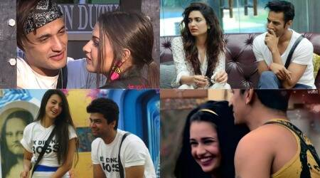 love stories on bigg boss,