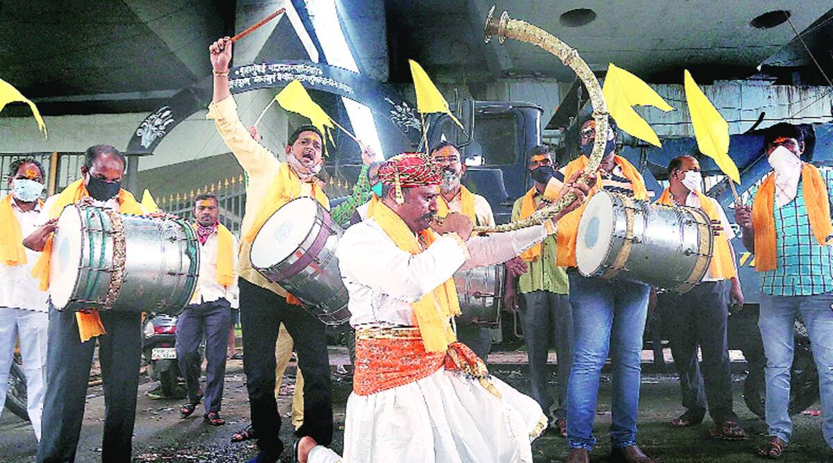 maharashtra Dhangars, Dhangars community, Dhangars sc reservation, Dhangars sc reservation protest, indian express news