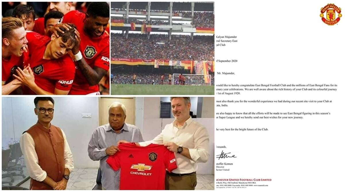 manchester united, east bengal