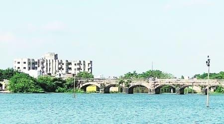 Jawahar Chavda, gujarat Tourism Minister, Manavadar town in junagadh to get river front, river front in Manavadar, gujarat news, indian express news