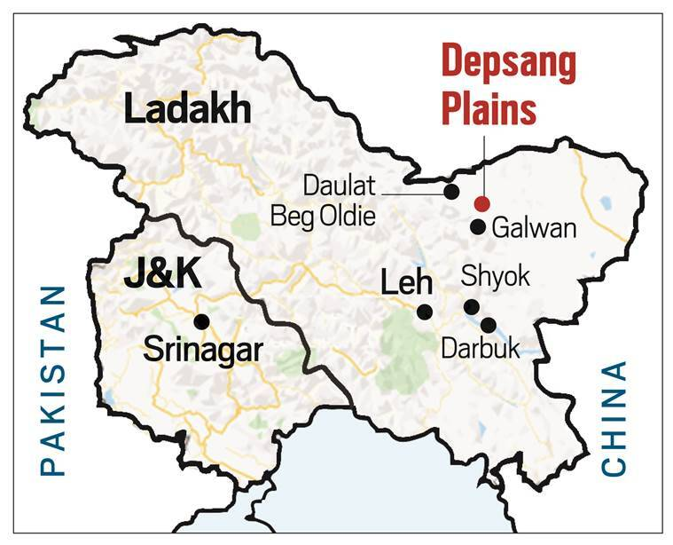 chushul sector, india china border dispute, india china border standoff, ladakh chushul sector, indian express