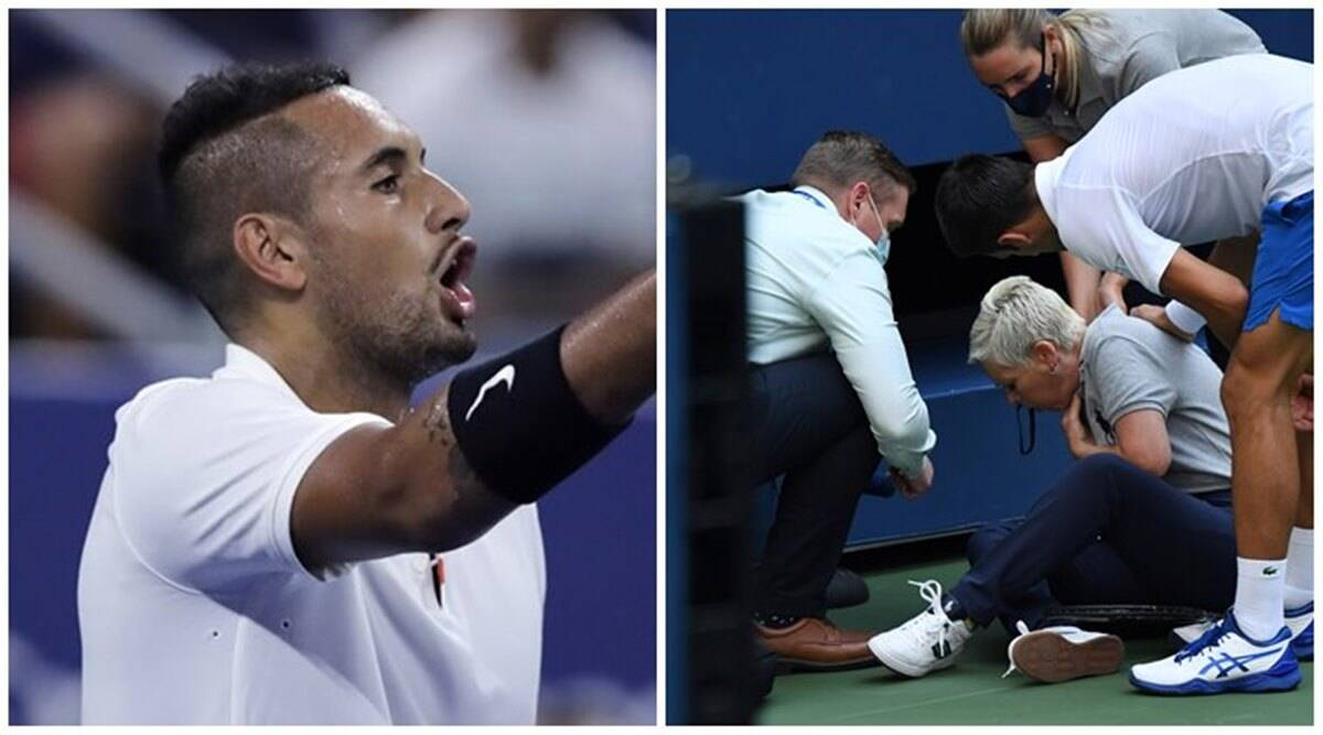 Swap Me For Jokers Incident Nick Kyrgios On Djokovic S Us Open Disqualification Sports News The Indian Express