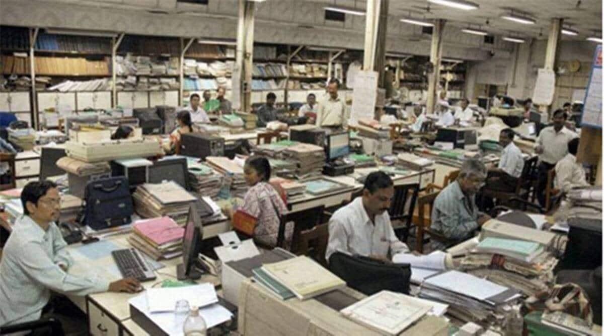 mumbai covid-19, mumbai covid cases, mumbai offices, mumbai covid second wave, indian express news