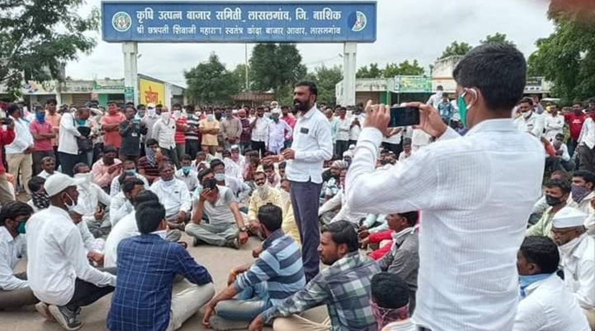 Onion growers, Onion export banned, Pune news, Maharashtra news, Indian express news