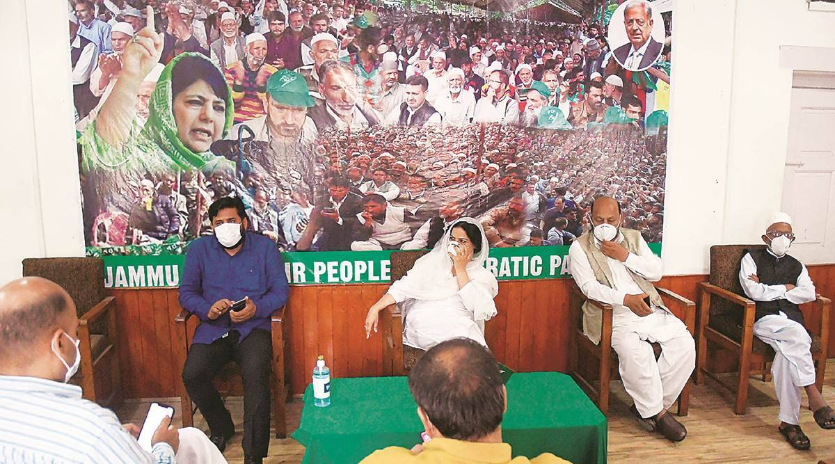 PDP cancels its first post-370 meet, says leaders not allowed to go out