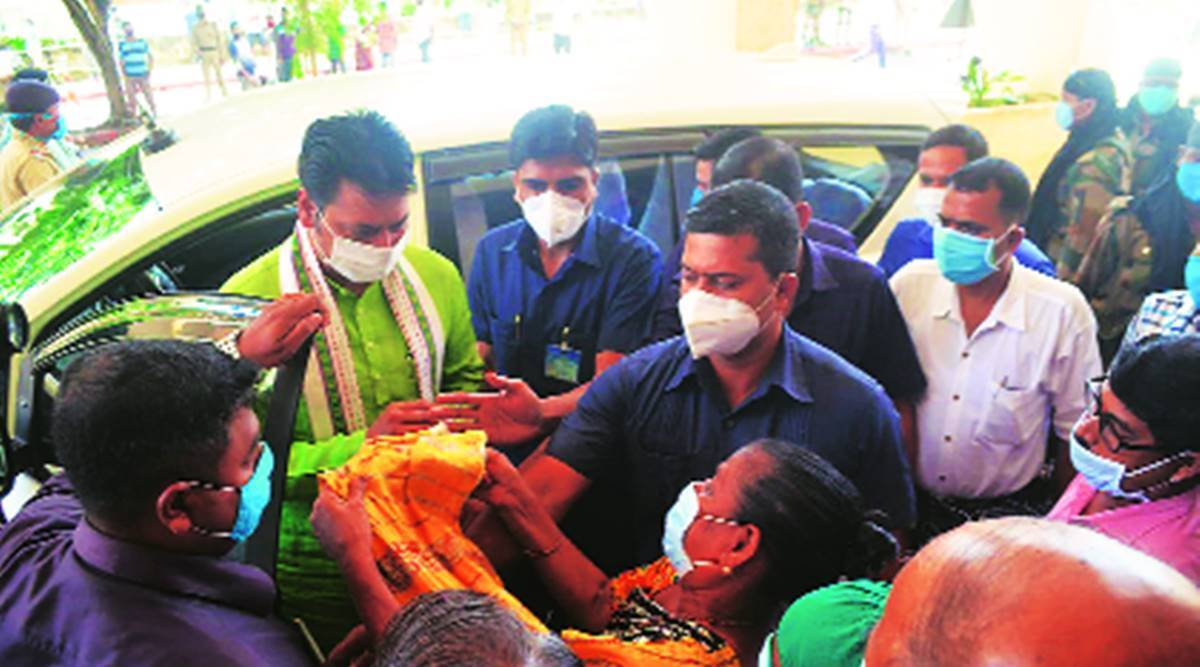 One RT-PCR lab, one Covid hospital, Tripura fights surge - The Indian Express
