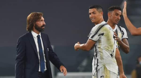 Andrea Pirlo and Ronaldo