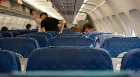 Centers for Disease Control and Prevention (CDC), travelling in flights, transmission of coronavirus in flights, COVID-19, travelling, indian express news