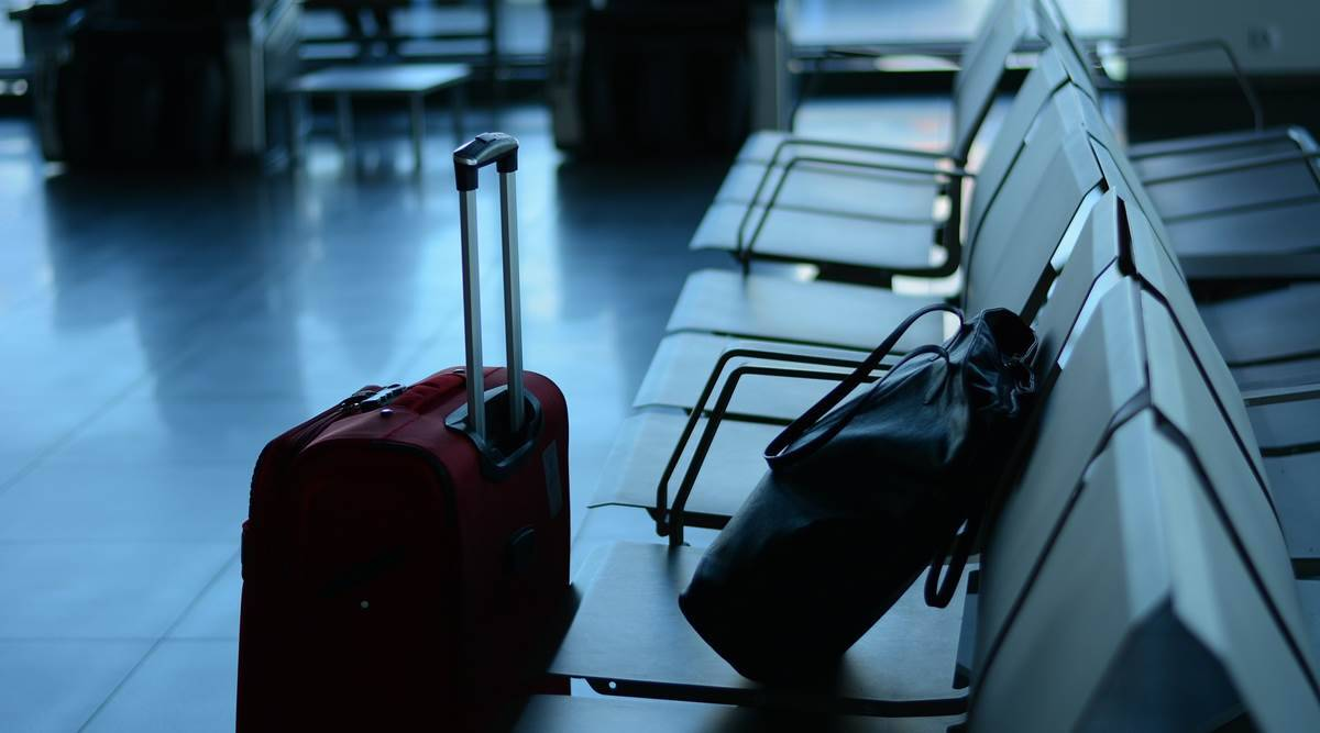 COVID-19 safety and hygiene protocol, COVID-19 safety and hygiene protocol in airports, Rome Airport safety and hygiene, pandemic, indian express news